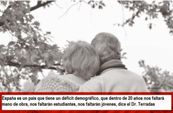 envejecimiento de la población española