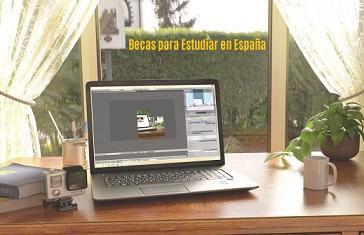 Becas p Estudiar en España