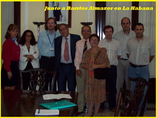 Encuentro con la dirección del Consulado español Habana
