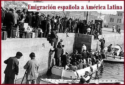 Emigración española a América Latina