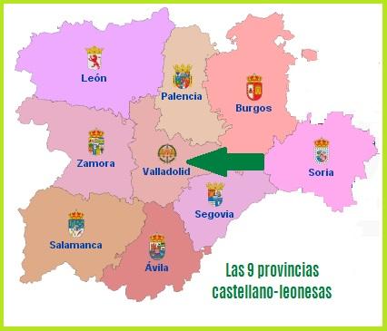 Conociendo Hispania, CCAA Castilla-León
