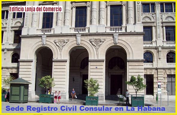 quejas y denuncias, Consulado español la Habana