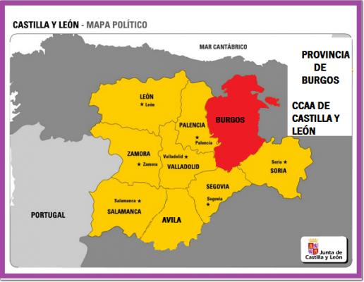 Conociendo Hispania, prov Burgos