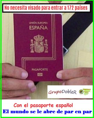 Poder del pasaporte español
